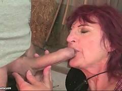 Lusty Granny Sucks 2