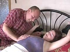 See me HELPLESS and DELIVERED leying on the bedsee what a horny guy doing with me Your Angel