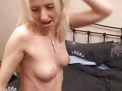 Would our Tracey want to be getting a bit of extra sleep in the bedroomNo waythis little minx just wants more of that big old cock from Freddie