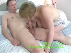 All I needed was this tight stretchy outfit and this guy was putty in my hands although his cock was rock hard thankfully  Claire  xx