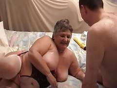 More oil and dildo for Libby as Greg continues to play with her but Libby wants COCK so she climbs on top of Greg and helps herself to his hard length  He turns Libby on the her back and fucks hard from on top making her moan and scream with intense pleas