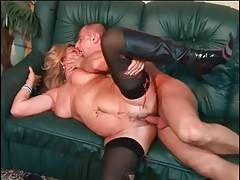 Tough Yough Stud Attacks Slutty Granny 3