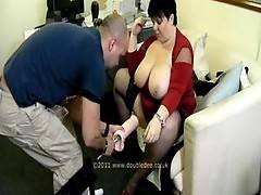 After getting me loosened up Jay fits the MASSIVE Dildo on the end of the Fuck Machine and makes me take it as much as I can It was fucking amazingJoin My Site And You can get to See all of TAC 1 Girls  You get the chance to join me on a sexy shoot