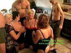 Ok Barby Double Dee Randy Raz and myself take on 3 other guys in this massive living room fuck fest orgy  There werent enough cocks to go round so we fucked each other too   Claire xx
