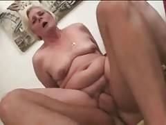 Nasty Old Chick Tastes Fat Young Cock 3